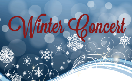 Winter Concerts Monday and Tuesday!